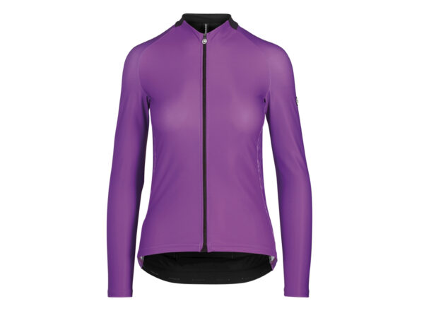 Assos UMA GT Spring Fall Jersey - Dame cykeltrøje L/Æ - Violet - Str. S