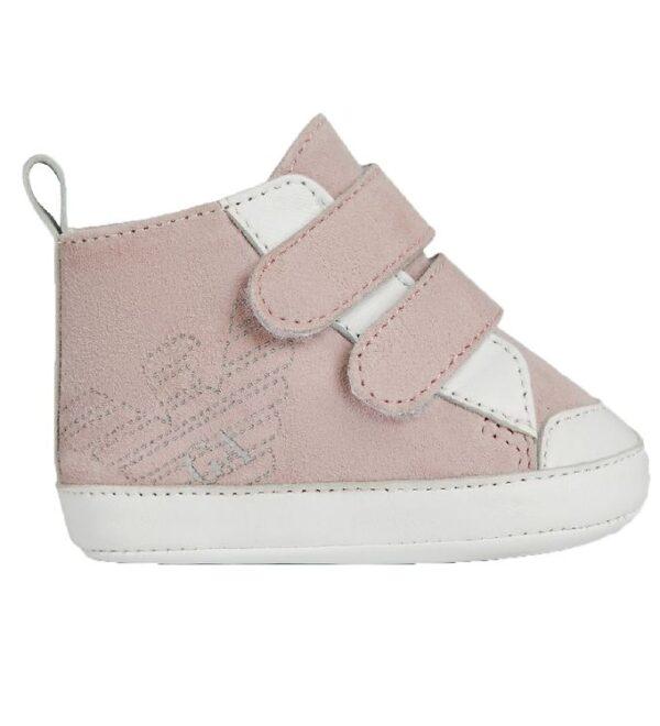 Emporio Armani Hjemmesko - Sneakers - Rosa/Hvid