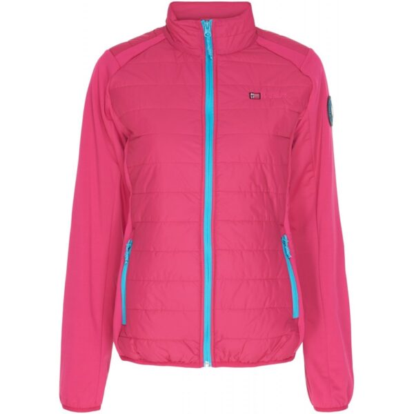GEOGRAPHICAL NORWAY Overgangs jakke Dame Beatrice - Pink - Turkis