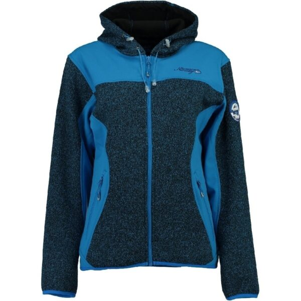 GEOGRAPHICAL NORWAY Softshell Dame TILLEUL - Blue
