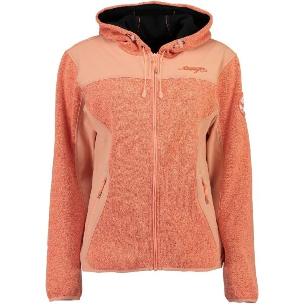 GEOGRAPHICAL NORWAY Softshell Dame TILLEUL - Coral