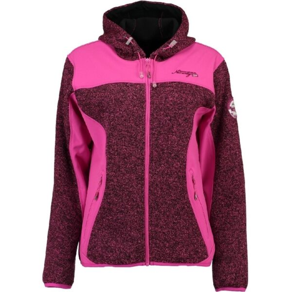 GEOGRAPHICAL NORWAY Softshell Dame TILLEUL - Pink