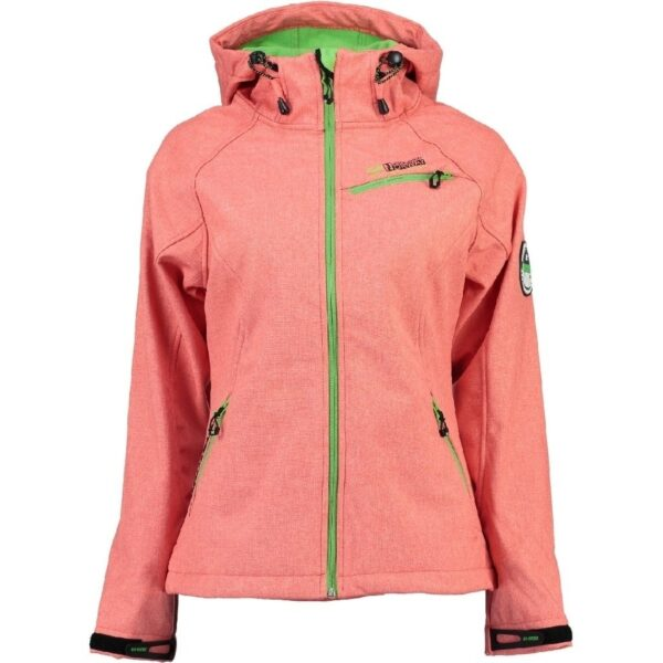 GEOGRAPHICAL NORWAY Softshell jakke Dame TWISTER - Coral/Anis