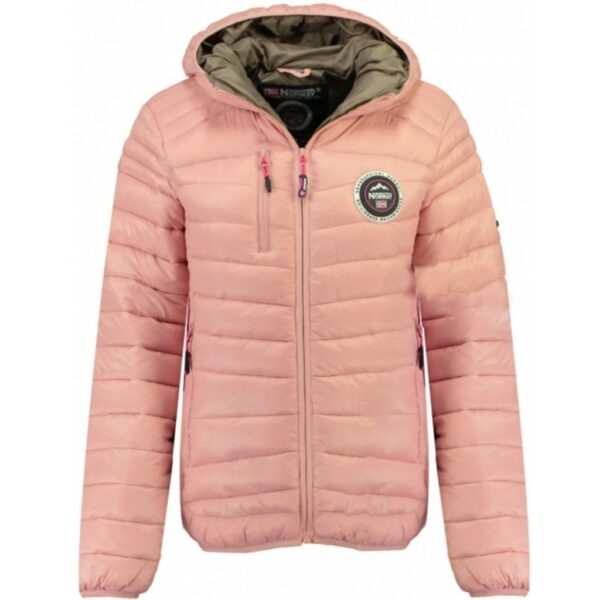 GEOGRAPHICAL NORWAY Vinterjakke Dame BAMBWAY - Powder Pink