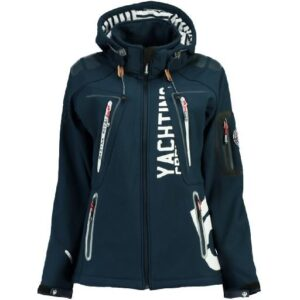 Geographical Norway Dame Softshell Jakke Tibiscuit - Navy
