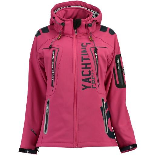Geographical Norway Dame Softshell Jakke Tibiscuit - Pink