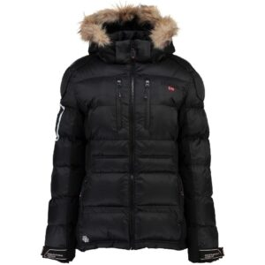 Geographical Norway Dame Vinterjakke Skijakke Basilic - Black
