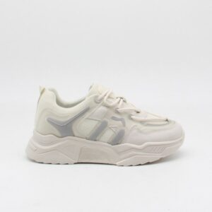 Ideal shoes dame sneakers 2021 - Beige