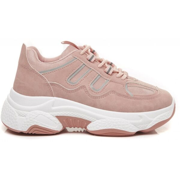 Ideal shoes dame sneakers 9917 - Pink