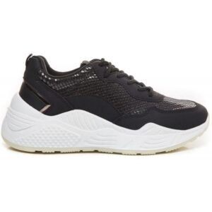 Ideal shoes dame sneakers 9920 - Black