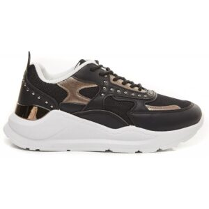 Ideal shoes dame sneakers 9929 - Black