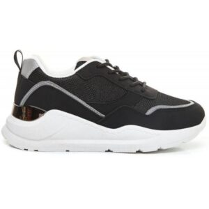 Ideal shoes dame sneakers 9930 - Black