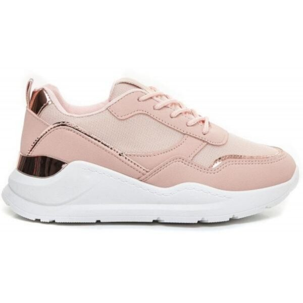Ideal shoes dame sneakers 9930 - Pink
