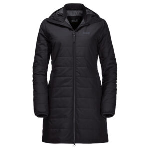 Jack Wolfskin Maryland Coat - Fiberjakke dame - Sort - Str. S
