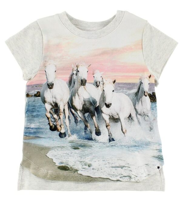 Molo T-Shirt - Erin - White Horses