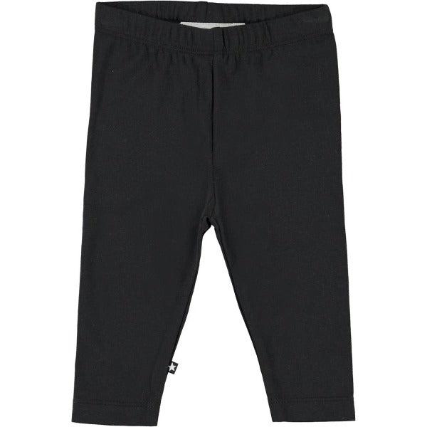 Nette Solid Leggings - Black - Str. 56