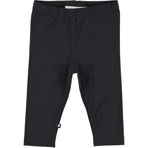 Nette Solid Leggings - Black - Str. 80