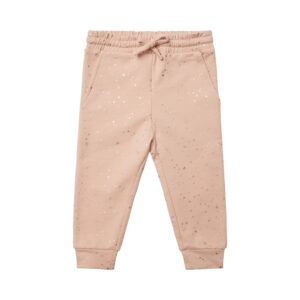 Petit by Sofie Schnoor - Baby Sweatpants - Light Rose / Silver