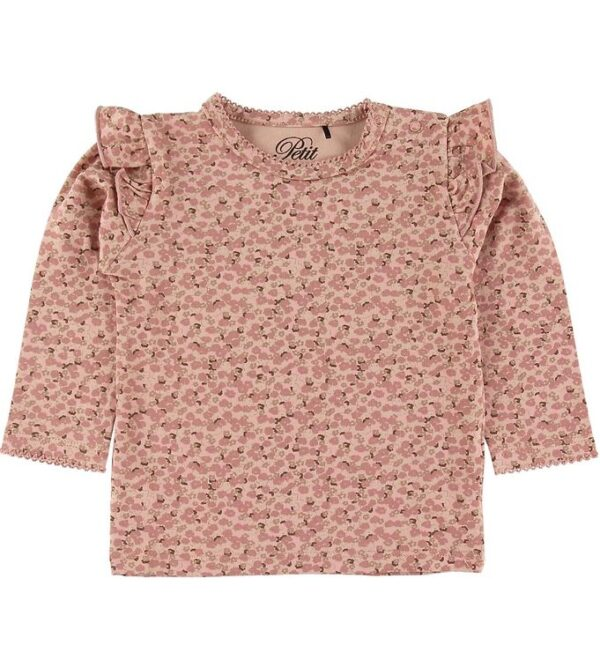 Petit by Sofie Schnoor Bluse - Elenor - Light Rose m. Blomster