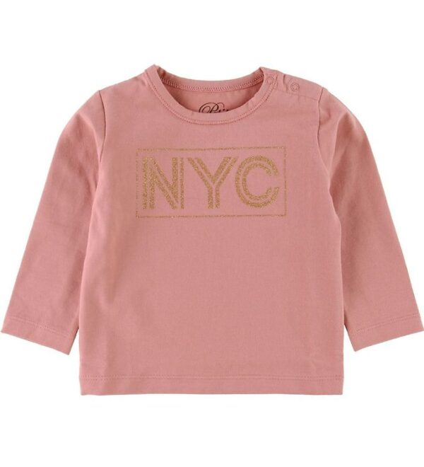 Petit by Sofie Schnoor Bluse - NYC - Rosa m. Glimmer