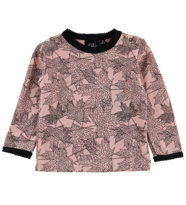 Petit by Sofie Schnoor Bluse - Uld/Bomuld - Pudder m. Blade