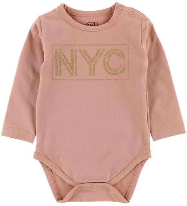Petit by Sofie Schnoor Body l/æ - NYC - Rosa m. NYC/Gimmer