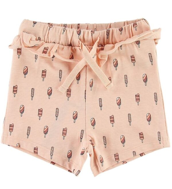 Petit by Sofie Schnoor Shorts - Laya - Rosa m. Ispinde