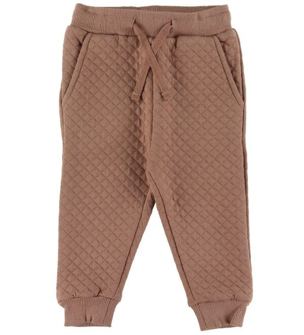 Petit by Sofie Schnoor Sweatpants - Estralla - Rosy Brown