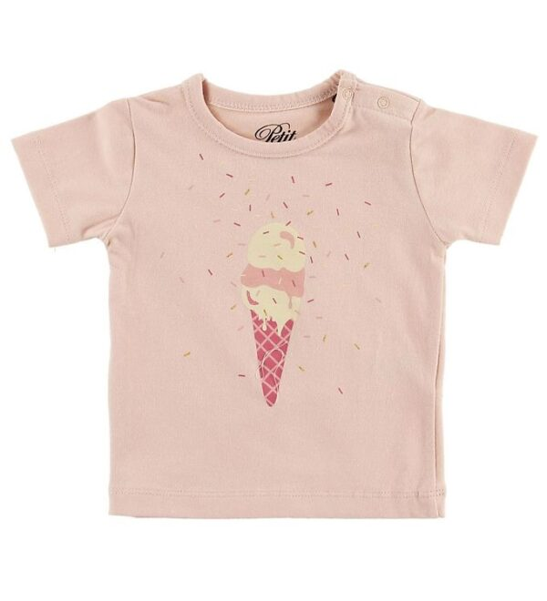 Petit by Sofie Schnoor T-shirt - Penelope - Rosa m. Is