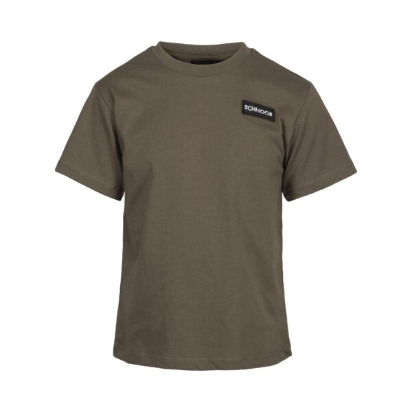 Petit by Sofie Schnoor - T-shirt SS, Schnoor - Army Green