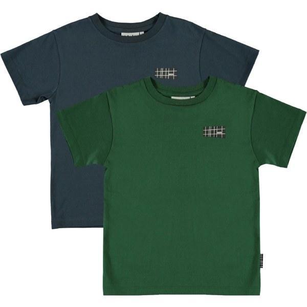 Rasmus T-Shirt 2-pak - Eden