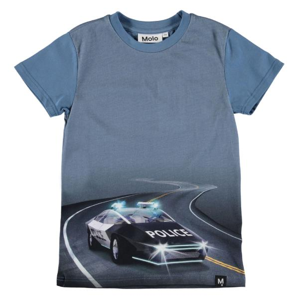 Raven T-Shirt - Selfdriving police - Str. 92