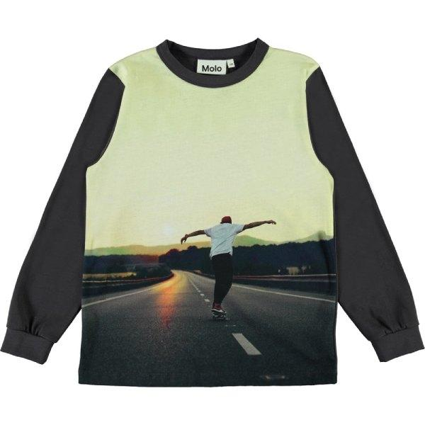 Rez Bluse - Sunset Skater - Str. 98