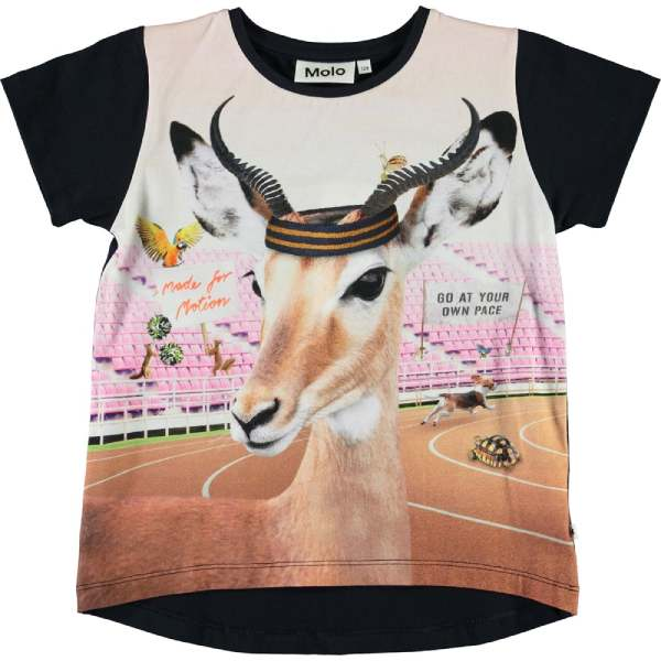 Risha T-Shirt - Your Own Pace - Str. 122