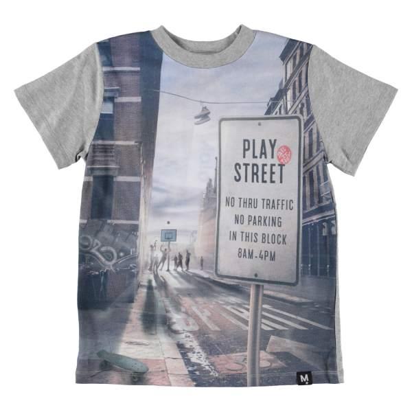 Road T-Shirt - Play Street - Str. 128