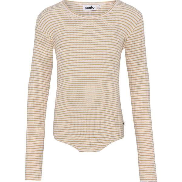 Rochelle Bluse - White Yellow Stripe - Str. 98/104