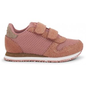 Woden Wonder - Sneakers, Sandra Pearl Mesh Kids - Canyon Rose