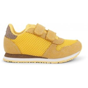 Woden Wonder - Sneakers, Sandra Pearl Mesh Kids - Super Lemon