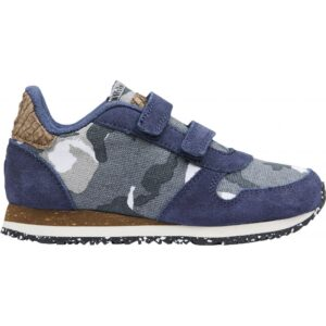 Woden Wonder - Sneakers, Tor Canvas Kids - Stone Blue