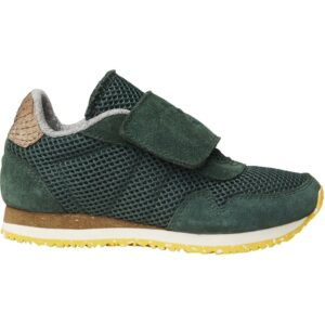 Woden Wonder - Sneakers, Why Mesh Suede Kids - Ivy Green