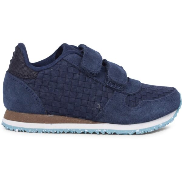Woden Wonder - Sneakers, Ydun Weaved II Kids - Navy