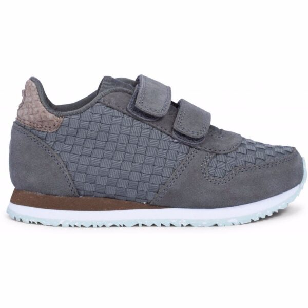 Woden Wonder - Sneakers, Ydun Weaved ll Kids - Castor Grey
